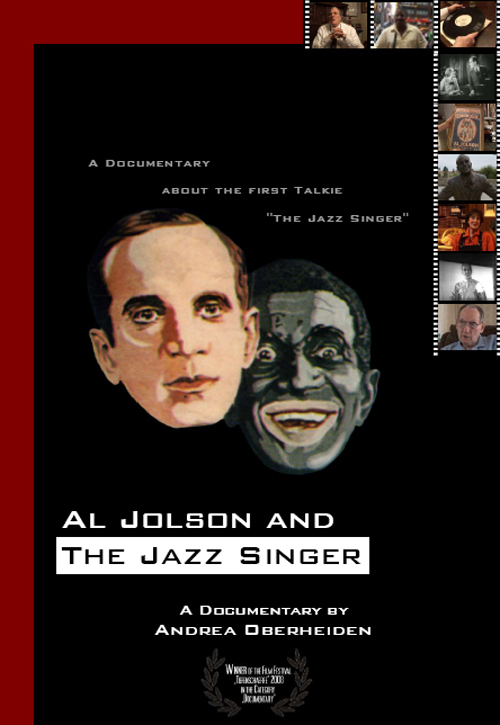 "Movie Poster ""Al Jolson and The Jazz Singer"""